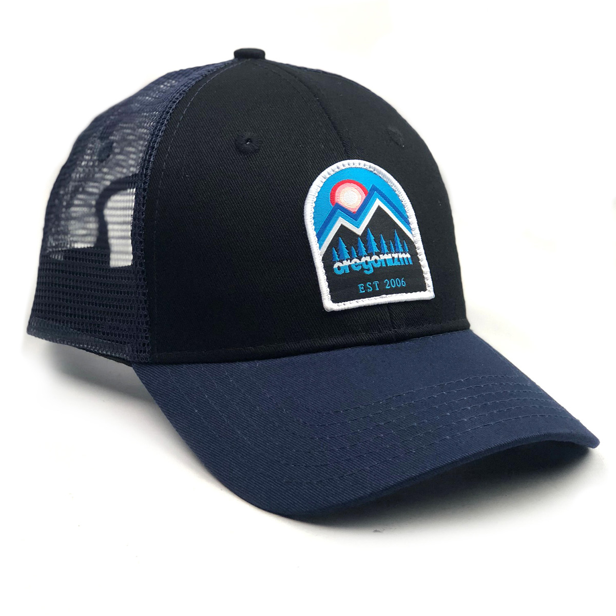 MountainScapeHat-Navy