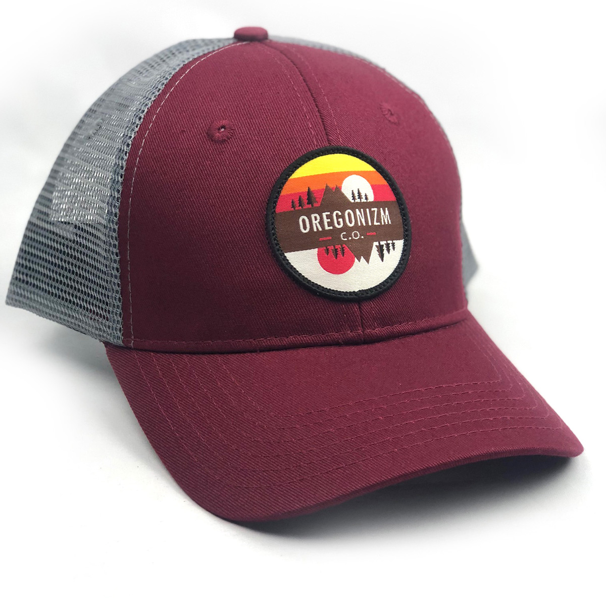 ReflectionHat-Maroon