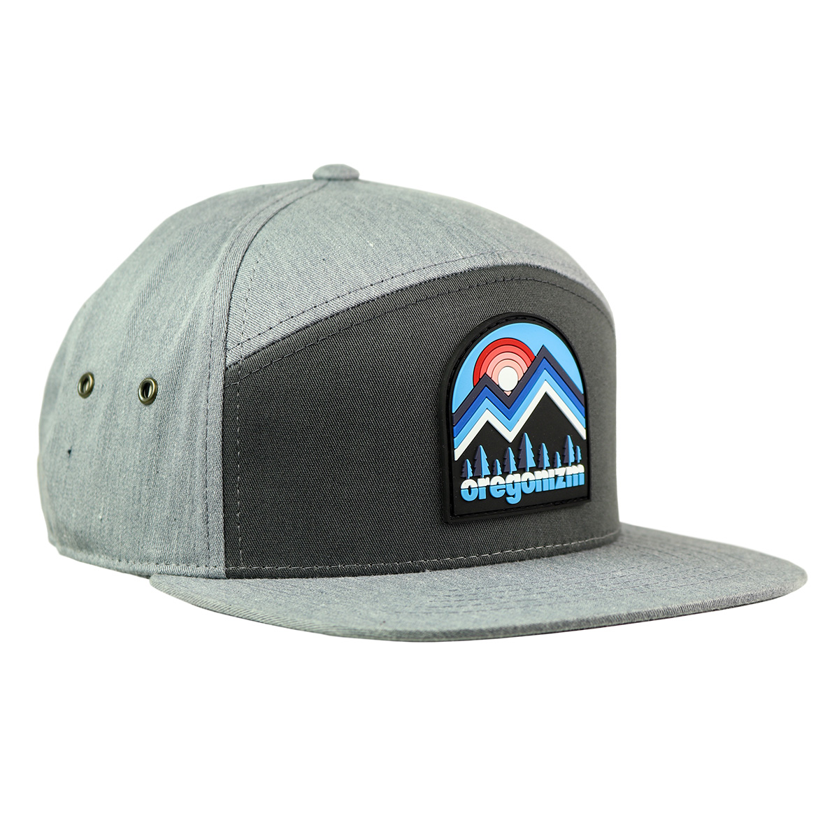 izm-productphoto-hats-youth-mountainscape-7panel-charcoalgray-primary