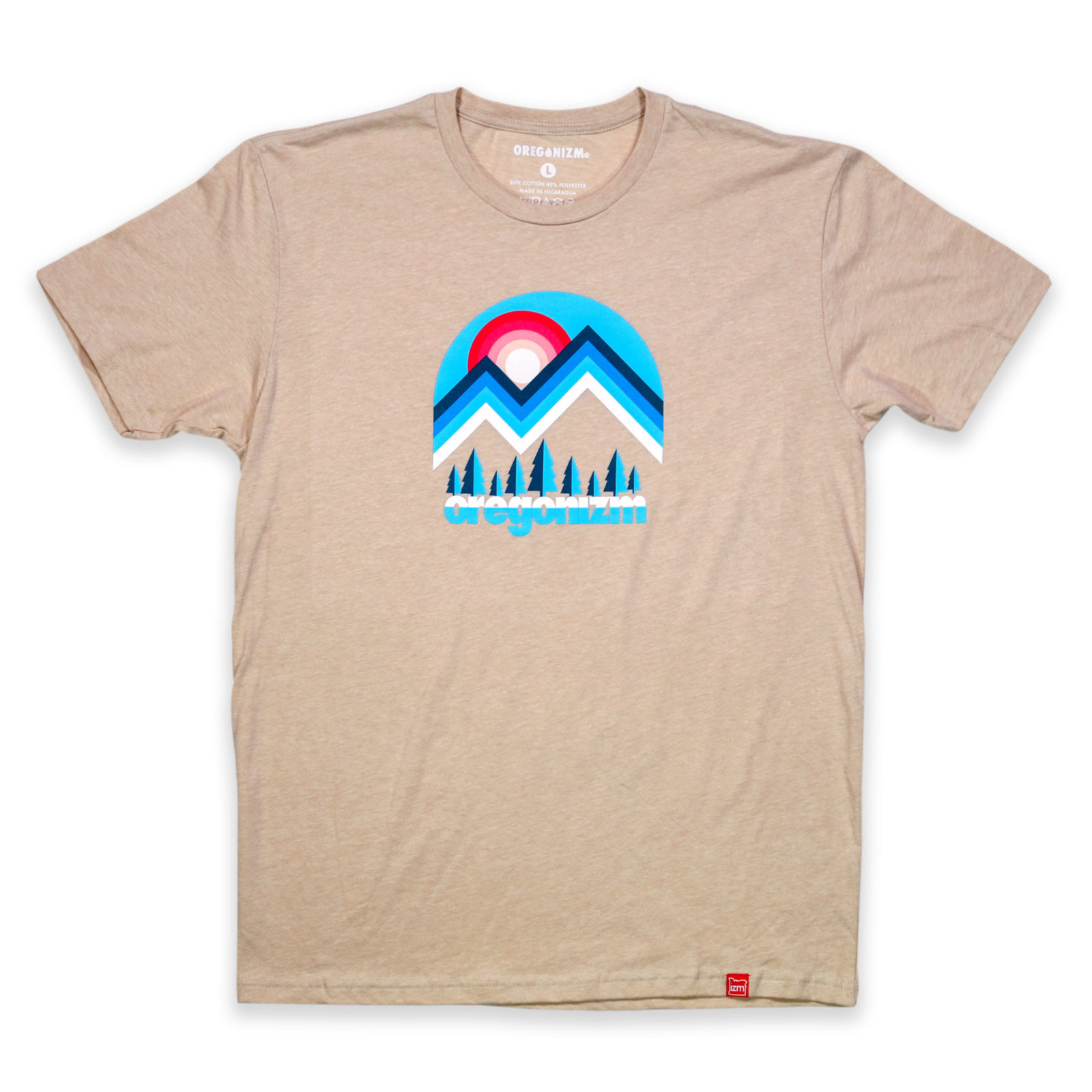 Tshirt_MtScape_Tan